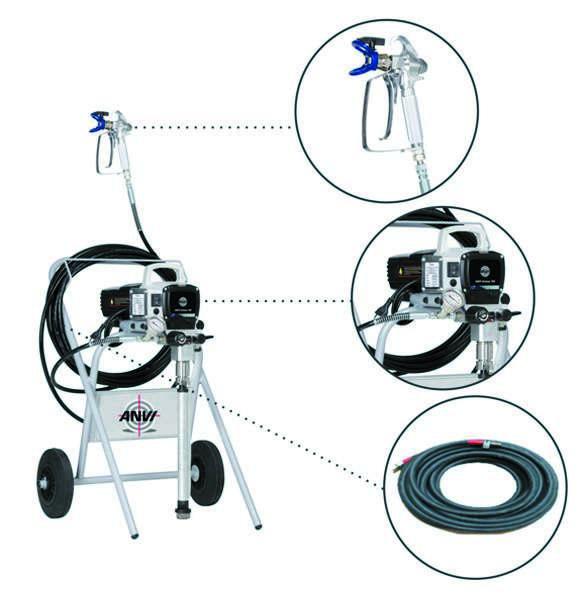 Locação de pintura airless