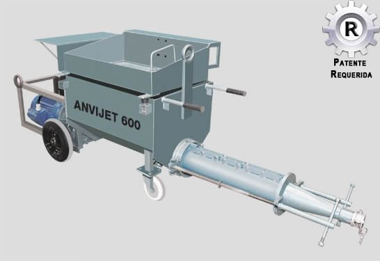 Sistema ANVIJET 600