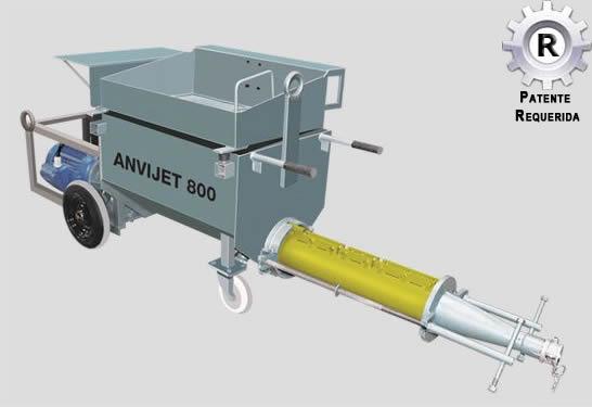 Sistema ANVIJET 800