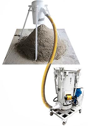 Transportador de areia