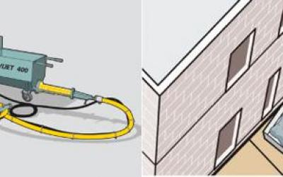 ANVIJET 400 – Transporte e projeção de argamassa para chapisco e projeção de emboço - reboco
