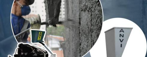 Projetor de Argamassa – Sistema Anvispray